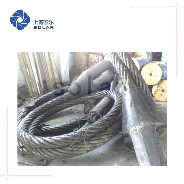 鋼絲繩澆鑄閉式索節