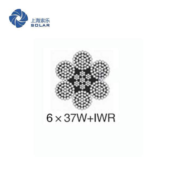 鋼絲繩6×37+IWR