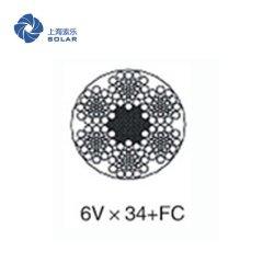 麻芯鋼絲繩6V×34+FC