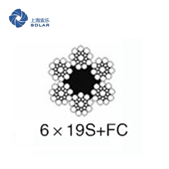 鋼絲繩6×19S+FC