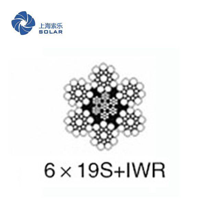 鋼絲繩6×19S+IWR