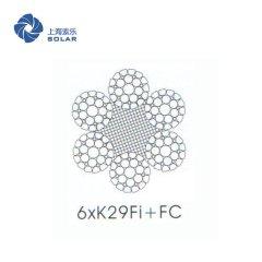 鋼絲繩6×K29Fi +FC
