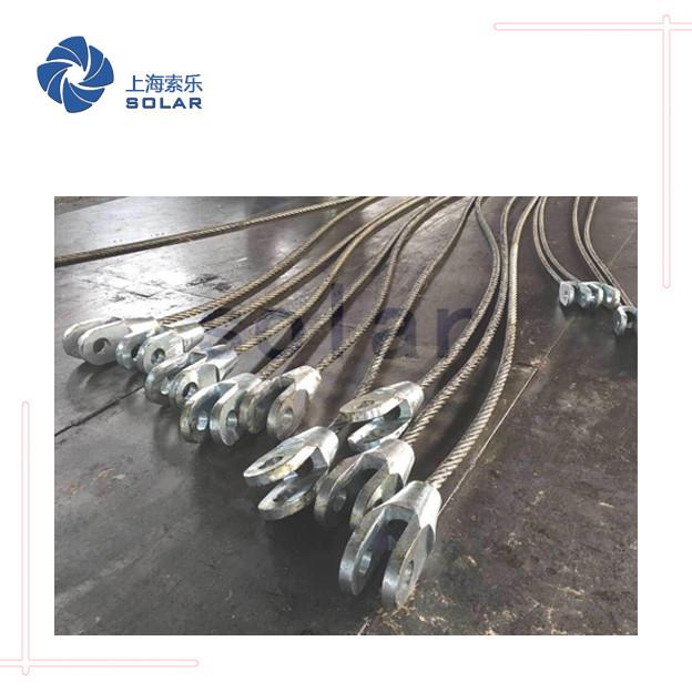 钢丝绳浇铸开式索节
