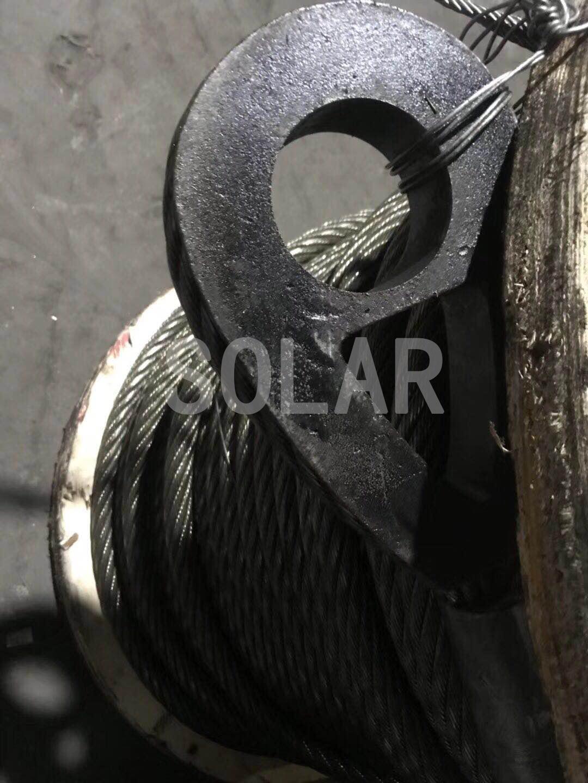 钢丝绳压制德标重型套环