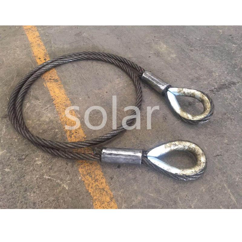 鋼絲繩壓制WT套環