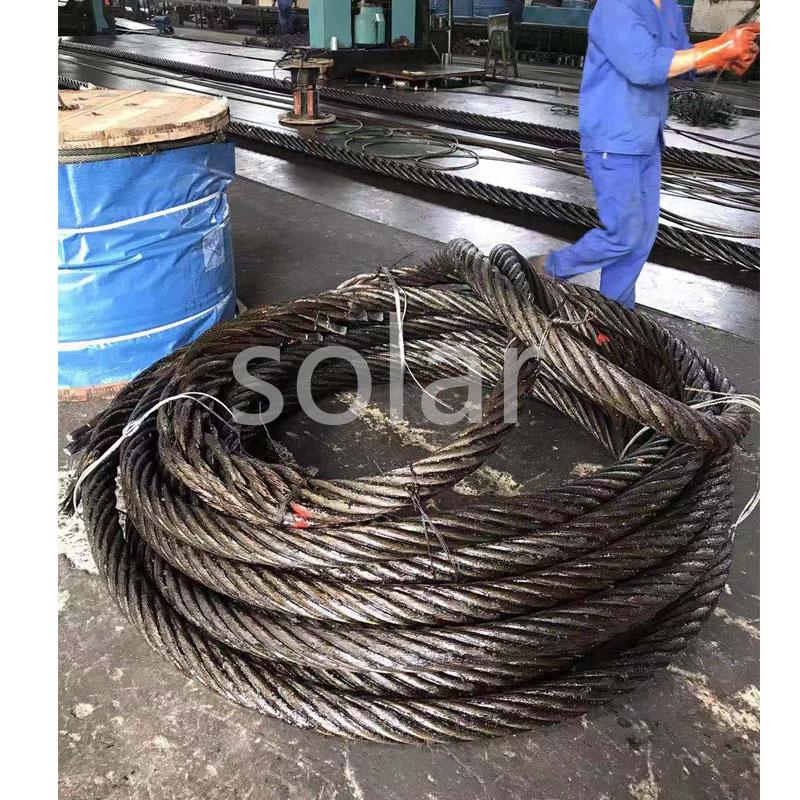 钢丝绳压制软环