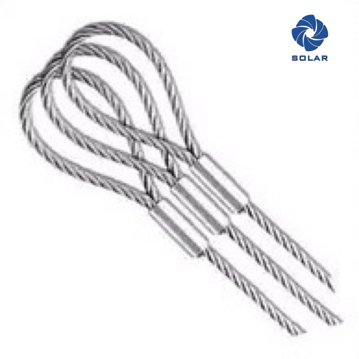 鋼絲繩壓制軟環