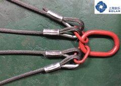 鋼絲繩四肢索具案例