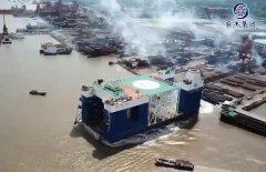 上海索樂為巨杰半潛起重船特供鋼絲繩