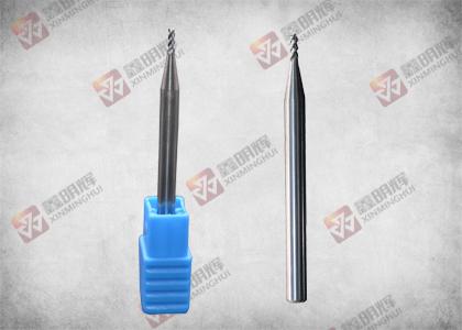 单刃球头铣刀D1.5*4.5*50L*D4