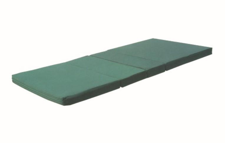 半棕半海绵防水布四折垫