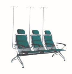 铁制三人连排输液椅