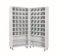 移动折叠式不锈钢药品柜