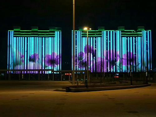 吉林东丰·盛京府邸楼体亮化项目