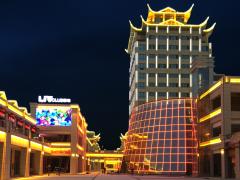 湖北利川龍船天街亮化項目