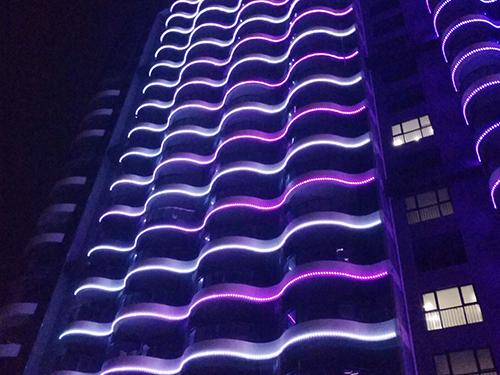 南澳半岛逸景酒店亮化项目