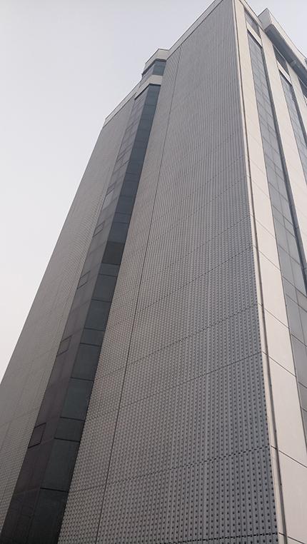 呼和浩特市夜景图片_山东临沂电力楼体亮化项目