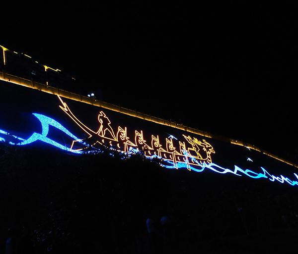 貴州沿河兩岸夜景景觀亮化項目