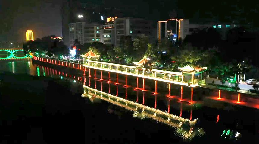 饶平黄冈河一河两岸景观亮化项目