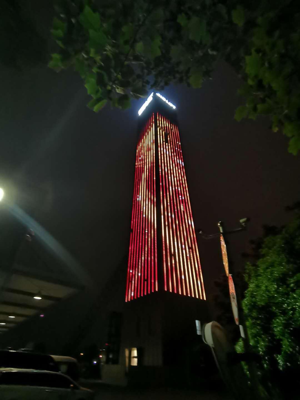 杭州西奥电梯楼体亮化项目