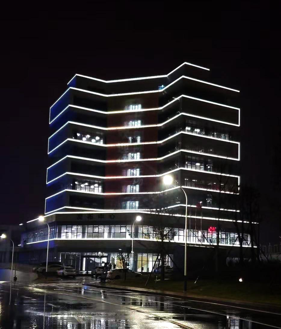 株洲国际赛车广场轮廓亮化项目