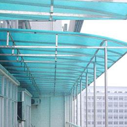 不锈钢雨棚 按要求制作
