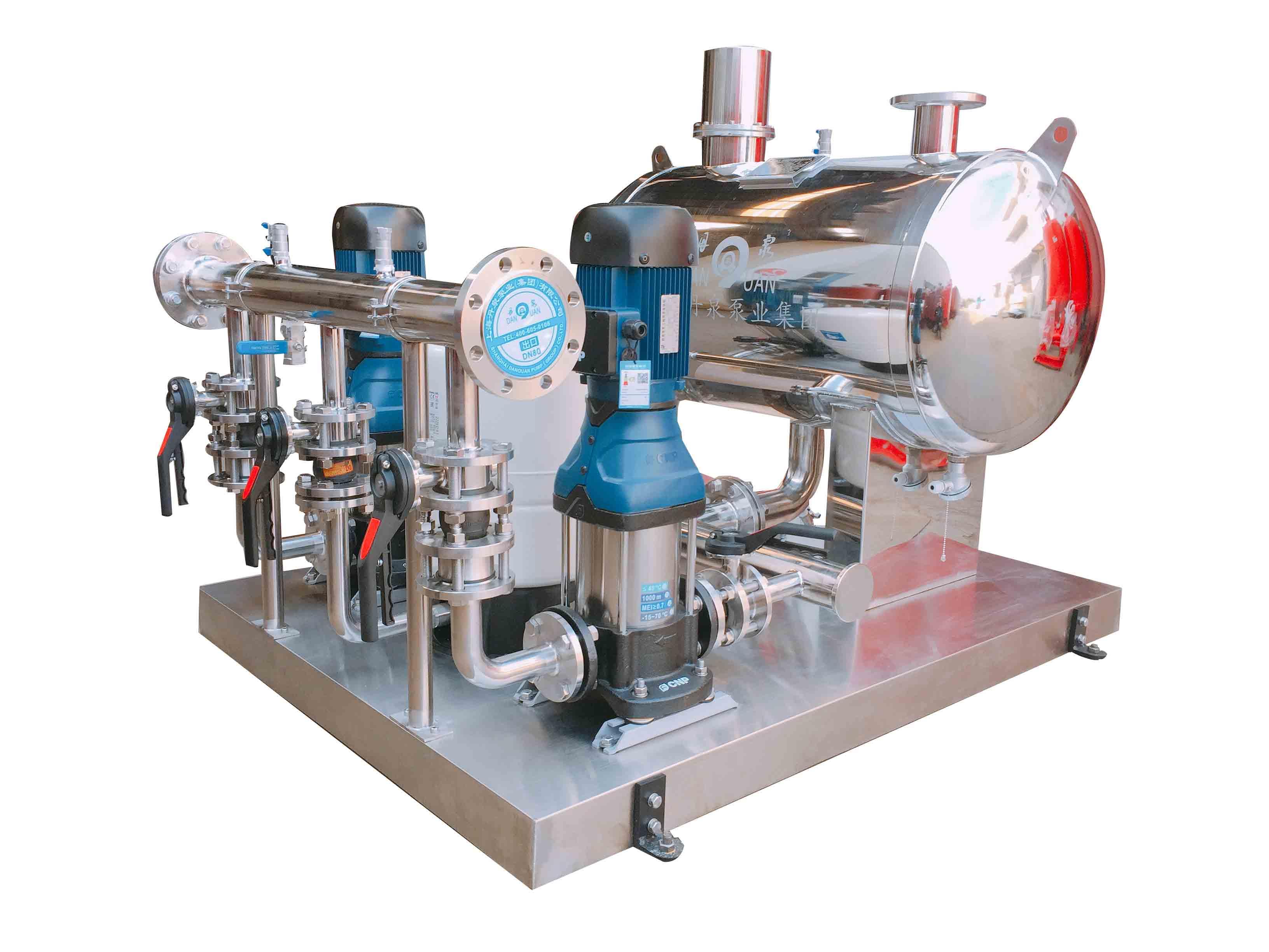 无负压管网增压稳流给水设备