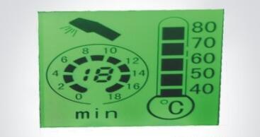 液晶显示模块的温度