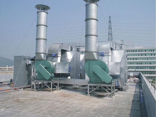 活性炭+低温催化燃烧废气治理