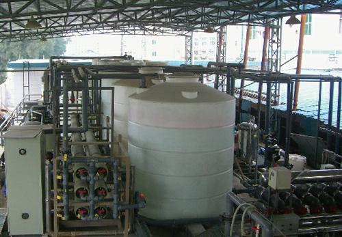 电镀废水处理案例