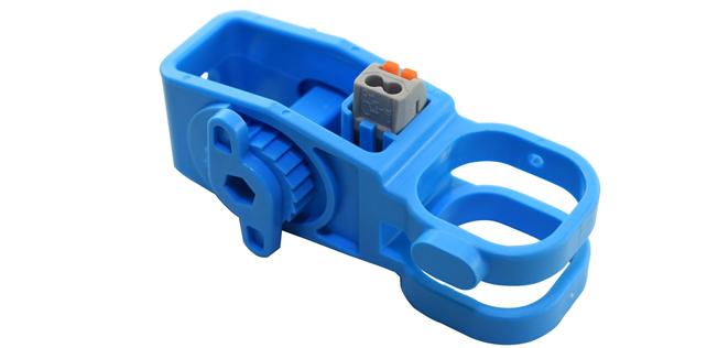 終端桿多功能復合防盜型絕緣子/灰、藍色可選