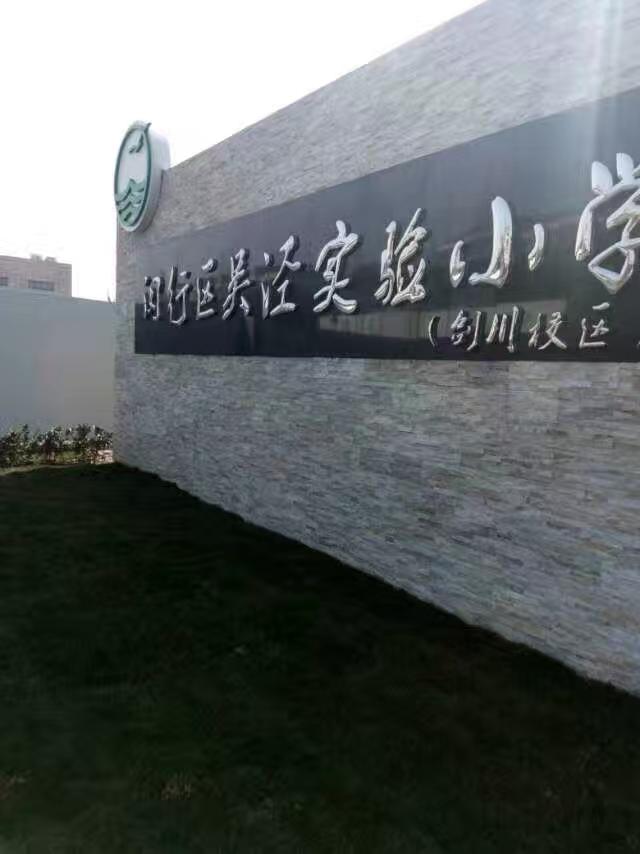 上海吳涇實驗小學張力電子圍欄項目交付-實發電子