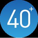40+技术专利