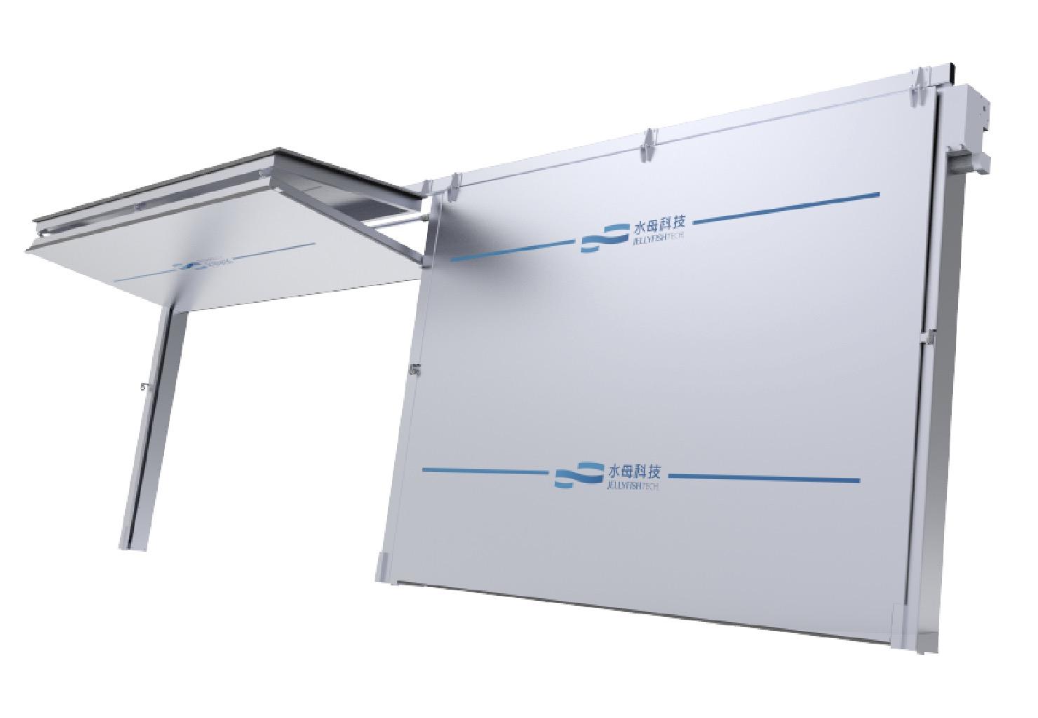 SZ-FZ160-A智能折疊式擋水門