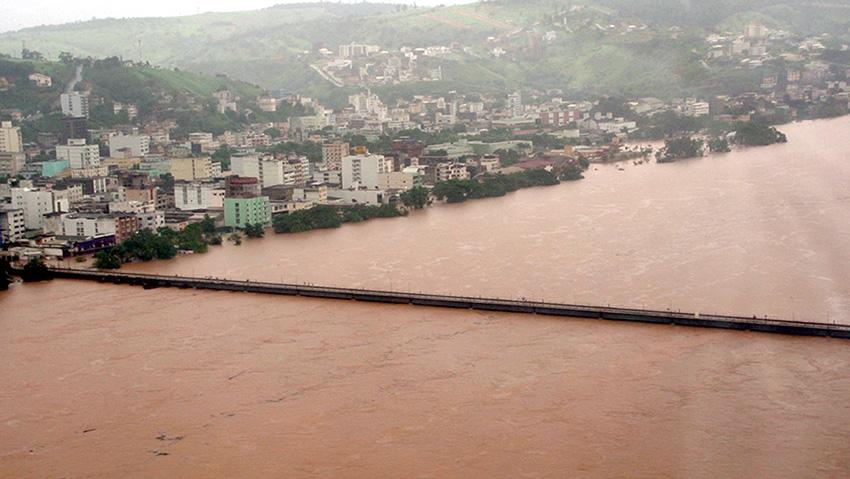巴西圣埃斯皮里圖州暴雨成災 已致4死10傷