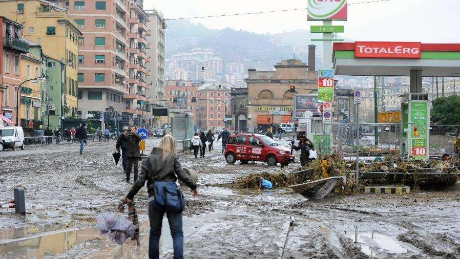 法国意大利遭暴雨侵袭 已造成至少5人丧生