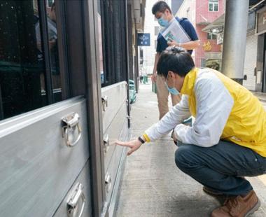 水母科技组合式防汛挡水板助力澳门中小企业防洪工程