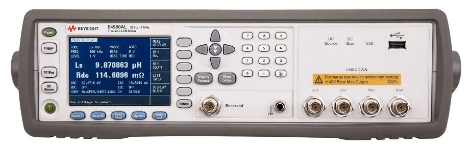 E4980AL 精密型 LCR 表,...