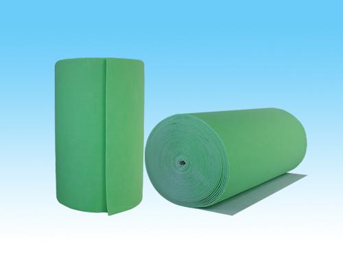 绿白针刺棉