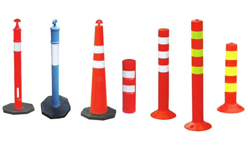 诱导路锥、防撞柱