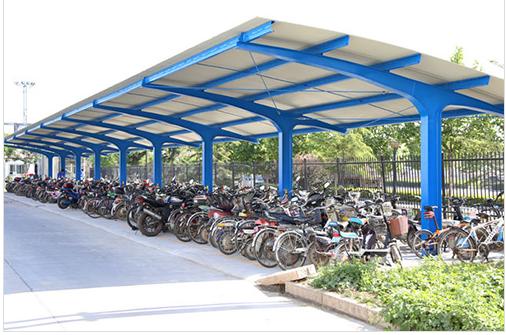非机动车停车棚太阳能发电站