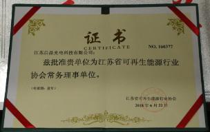 江苏省可再生能源行业协会常务理事会
