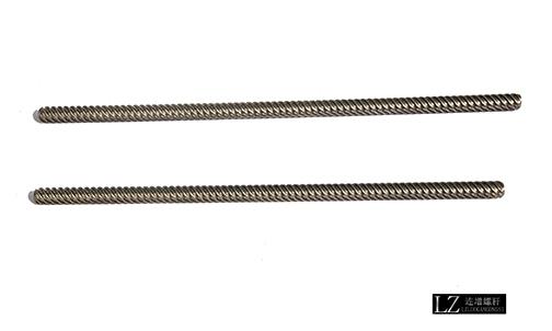 对细长数控机床丝杆加工处理有什么要注意的