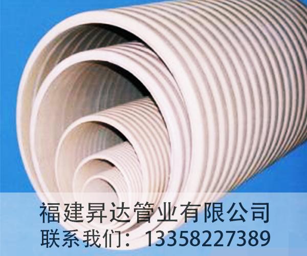 福建HDPE双壁波纹管