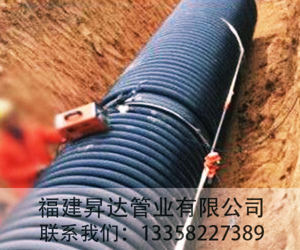 HDPE高密度聚乙烯B型增强缠绕管(克拉管)