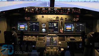 飞行模拟器座舱系统人机工效解决方案