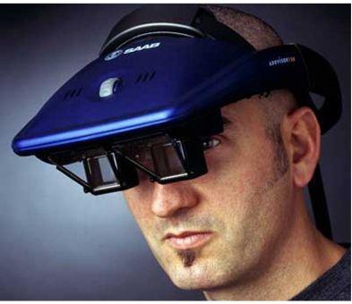 SAABtech AddVisor 150增强/虚拟现实头盔
