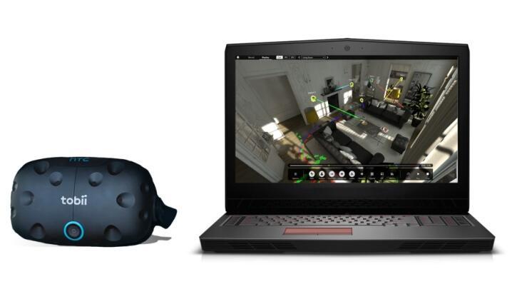 Tobii Pro VR 数据分析工具