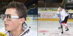 眼动追踪用于改善冰球运动击球技巧