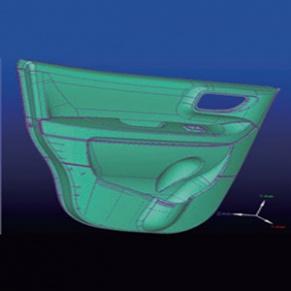 三维扫描服务-汽车零部件扫描、逆向、改型设计